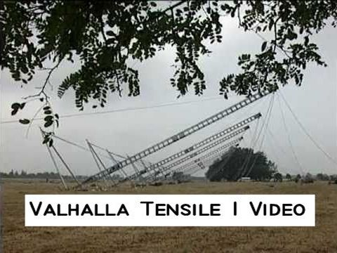 Rudi Enos Design - Tensile 1 - worlds largest portable structure - Special Structures Lab